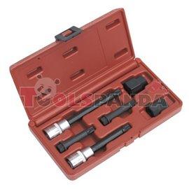 Комплект за демонтаж/монтаж шайбата на алтернатора /210843+210909 / BOSCH, VALEO 6 броя к-т | SEALEY