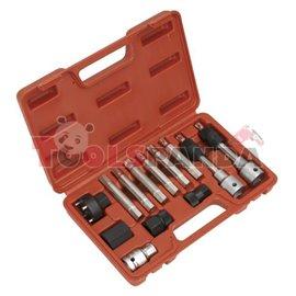 Комплект за демонтаж/монтаж шайбата на алтернатор /210909+210843/ 13 броя к-т | SEALEY