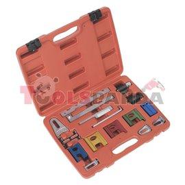 Инструмент за зацепване на валове Audi, Citroen, Fiat, Ford, Peugeot, Renault, Rover, Saab, SEAT, SKODA, Opel, VW | SEALEY