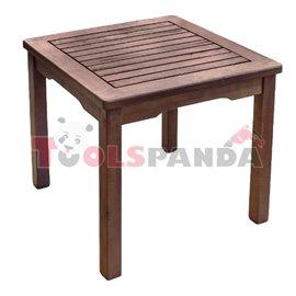 Масичка дървена за шезлонг 45x45x40см.