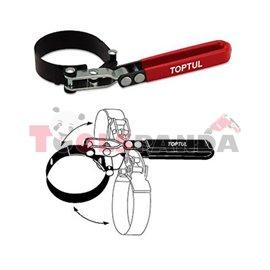 Kлюч за маслен филтър колан ф95-110мм. | TOPTUL