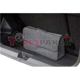Чанта за багажник текстилна сива | MAMOOTH