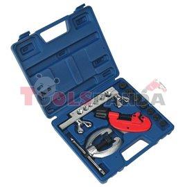Инструмент за спирачни тръбички медни и алуминиеви с адаптери к-т | SEALEY