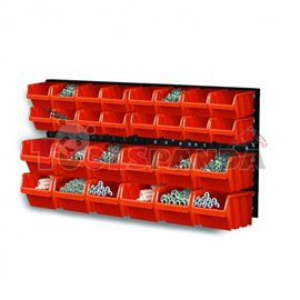 Кутии за инструменти, болтове, гайки 80х40см. 30 части к-т | MAMOOTH