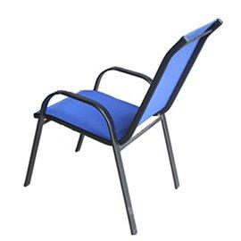 Стол метален/текстил