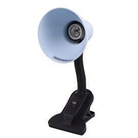 Лампа настолна със щипка бяла Kara
