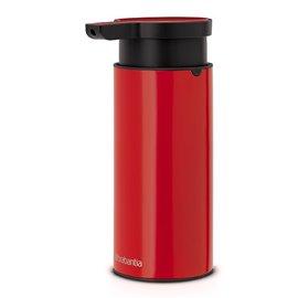 Дозатор за течен сапун червен