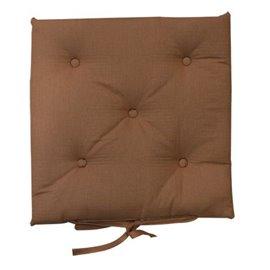 Възглавница за стол кафява 40x40см. Megi