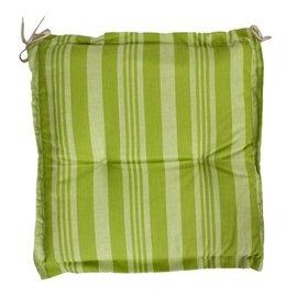 Възглавница за стол зелена 45х45см. Seduta