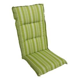 Възглавница за стол двойна зелена с рае Multialta 115х50см.