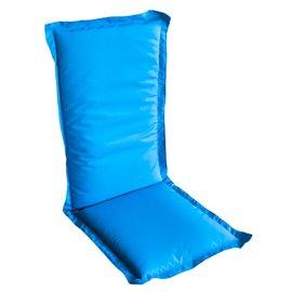 Възглавница за стол двойна синя Multialta 115х50см.