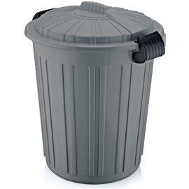 Кош за отпадъци сив №5 73л. 45х52см.