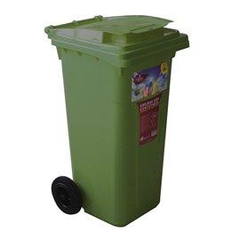 Кош за отпадъци зелен 120л.