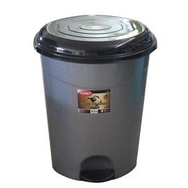 Кош за отпадъци с вътрешна кофа и педал №5 50л. 42x43x56см.