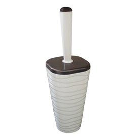 Четка за тоалетна бежова Welle
