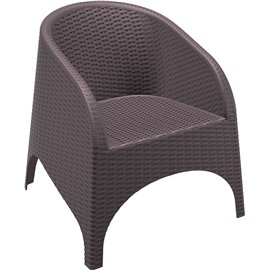 Кресло кафяво ратан Aruba