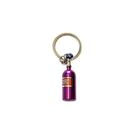 Ключодържател с лилава нитро бутилка