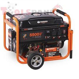 Генератор бензинов 5000/5500 W, 389CC, ел. старт