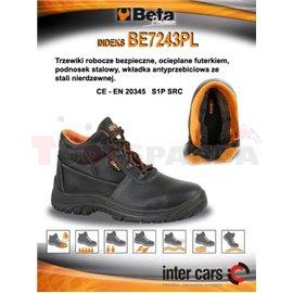 Работни обувки с междинна подметка и полиуретаново ходило, размер 42