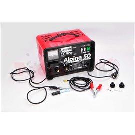 Зарядно акумулатор 230V 12/24V 30A. Капацитет на акумулатора 20-500 Ah.