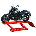 Подемник за мотоциклети- Хидравличен, Капацитет: 453 кг. Шир: 680 мм Дъл: 2200 мм Мин височина: 180 мм Макс височина: 750 мм Тег