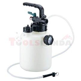 Устройство за смяна на спирачна течност с контейнер 5 литра