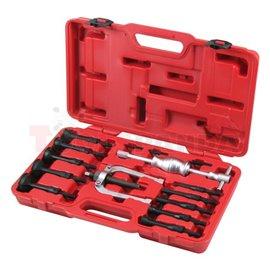 Комплект инструменти за демонтаж и монтаж на лагери, размери: 8-1 мм, 12-17 мм, 18-23 мм, 24-29 мм, 30-34 мм, 34-37 мм, 39-42 мм