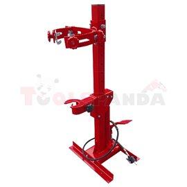 Специализиран хидравличен уред за компресиране на пужини с натиск 1 тон, присобен за диаметър на пружините 102-380мм, диапазон н