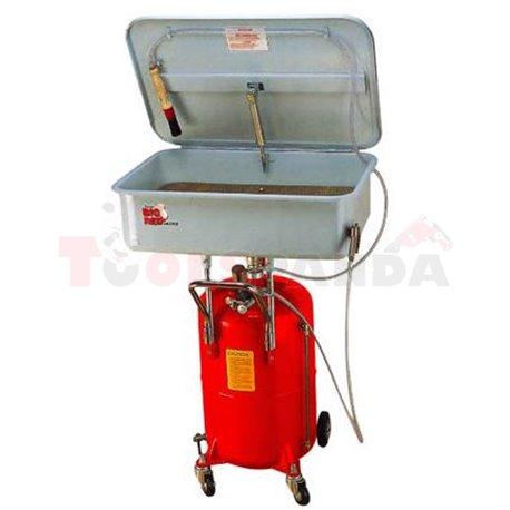 Вана за почистване на части преносима резервоар 65 л. капацитет на ваната: 75л.