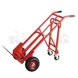 Транспортна товарна количка разглобяема 3 в 1 до 250 кг.