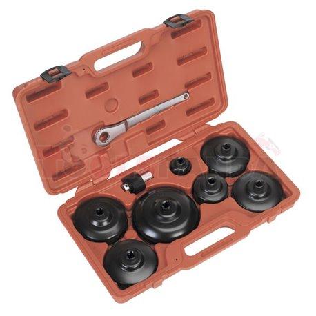 Ключове за маслен филтър ф36-160мм. 9 броя