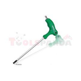 Ключ Г-образен шестограм 10мм. със сфера на върха | TOPTUL