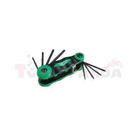 комбиниран инструмент с лимбуси TORX T6, T8, T9, T10, T15, T20, T25