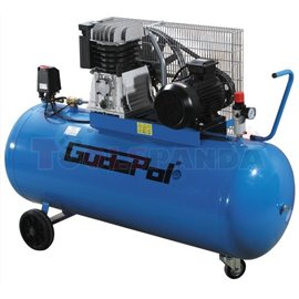 Компресор бутален стационарен 270 литра 560 л./мин. 4kW 15 бара 400V/50Hz/3f