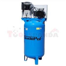 Компресор бутален с вертикален резервоар 270 л.3 kW 515 л./мин. 10 бара 400 V две степени на компресия