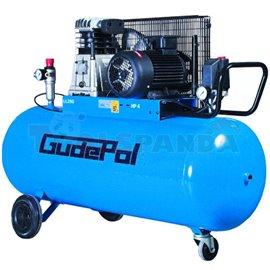 Компресор бутален преносим 200 л. 3 kW 475 л./ мин. 10 бара 400 V