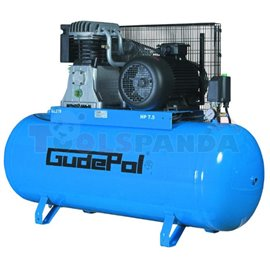 Компресор бутален преносим 270 л. 4 kW 650 л./мин. 10 бара 400 V