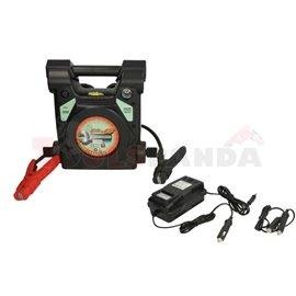 Стартиращо устройство за автомобили (преносим бустер) LEMANIA ENERGY P6 - 250 12V стартов ток 850А, пиков ток 2500А