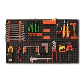 Органайзер за инструменти за стенен монтаж пластмасов 24x80x2см.