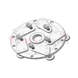Фланец за захващане на джанти без централен отвор, за баланс машини CB66,67,68 (диаметър 40 мм)