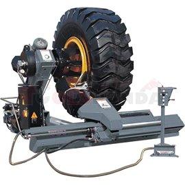 Машина за монтаж и демонтаж на гуми на камиони, пътностроителна и селскостопанска техника модел LC590. Размери на джантата: межд