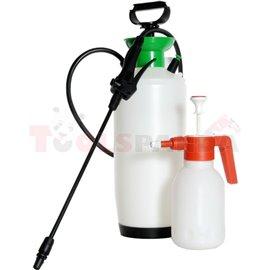 Помпа с пръскачка (резервоар 10 л.) за пръскане на климатични кондензатори и изпарители