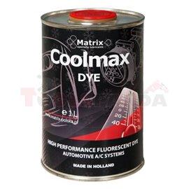 Контрастен разтвор (UV) за засичане на течове от климатичната система, опаковка от 1 литър