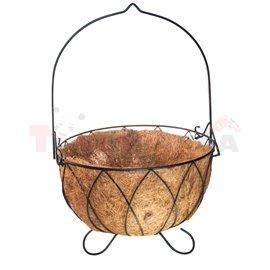 Саксия кокосова кръгла 35см.