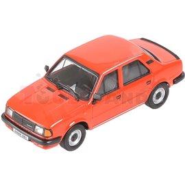Макет на кола червена Skoda 120L 1984 1:43 14г.
