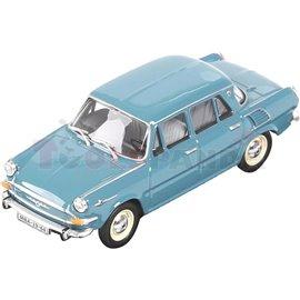 Макет на кола синя Skoda 1000MB 1964 1:43 14г.