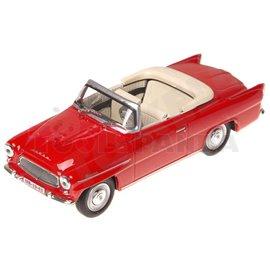 Макет на кола червена Skoda Felicia Roadster 1963 1:43 14г.