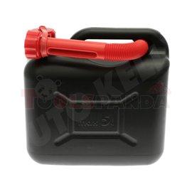 Туба за гориво пластмасова с фуния 5л.