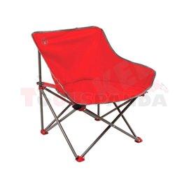 Къмпинг стол червен Kick-Back