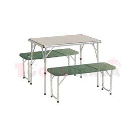 Къмпинг маса с пейки к-т